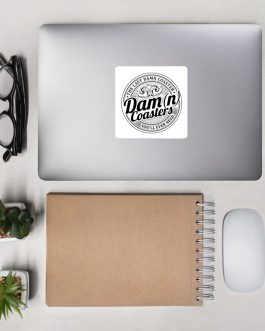 Dam(n) Coasters Bubble-free stickers