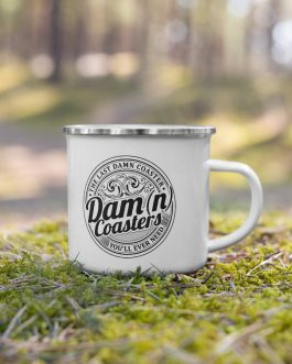 The Dam(n) Coaster Enamel Mug