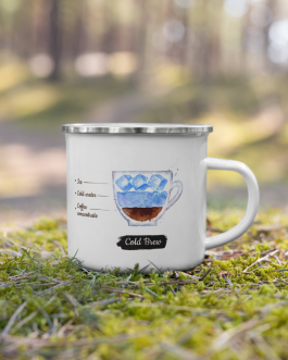 Order of the Bean ( Cold Brew ) Recipe – Enamel Mug