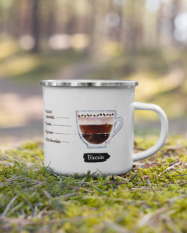Order of the Bean ( Bicerin ) – Enamel Mug